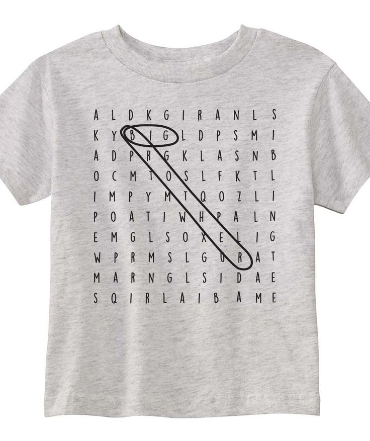 Toddler T-shirt - Big Brother / Big Sister Crossword by TheSourPeach on Etsy