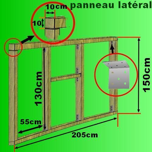 17 meilleures id es propos de plan cabane sur pinterest plans de cabane plan abri bois et. Black Bedroom Furniture Sets. Home Design Ideas