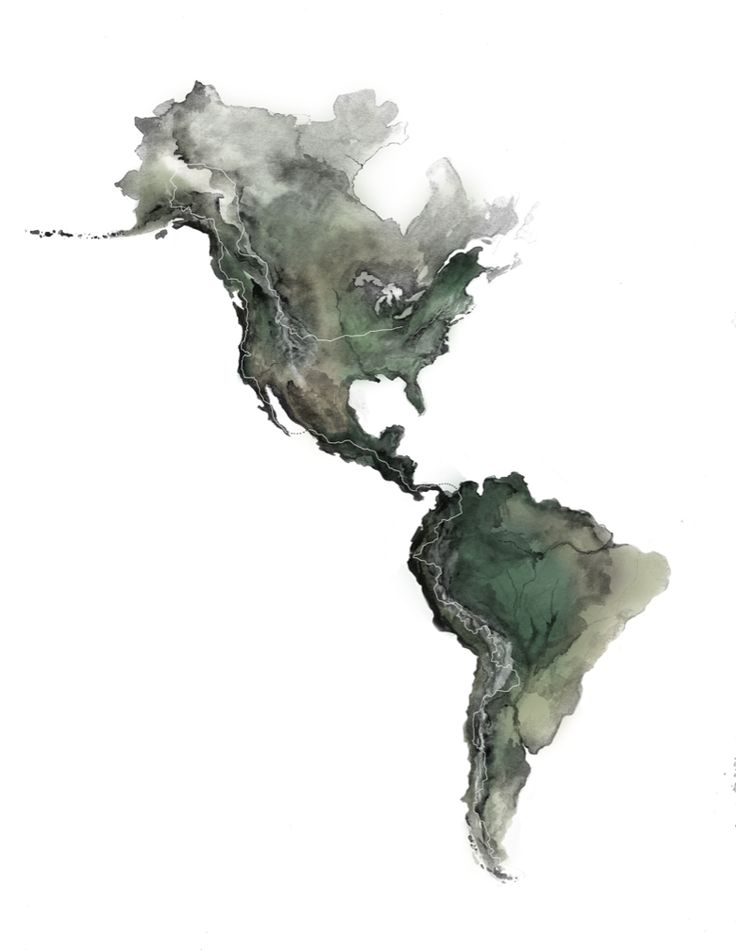 Map of the Americas 467 best Geospatial