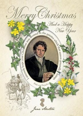 Mr Darcy Christmas card