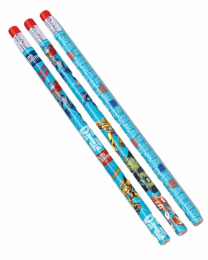 Transformers Prime Pencil Favours