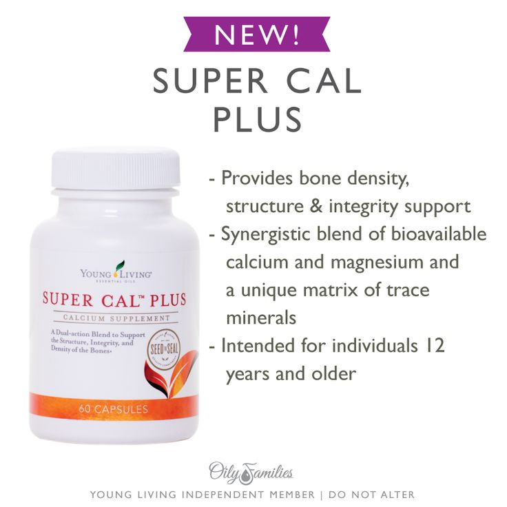 Young Living Super Cal Plus: Provides bone density, structure, and integrity support. Synergistic blend of bioavailable calcium and magnesium and a unique matrix of trace minerals.