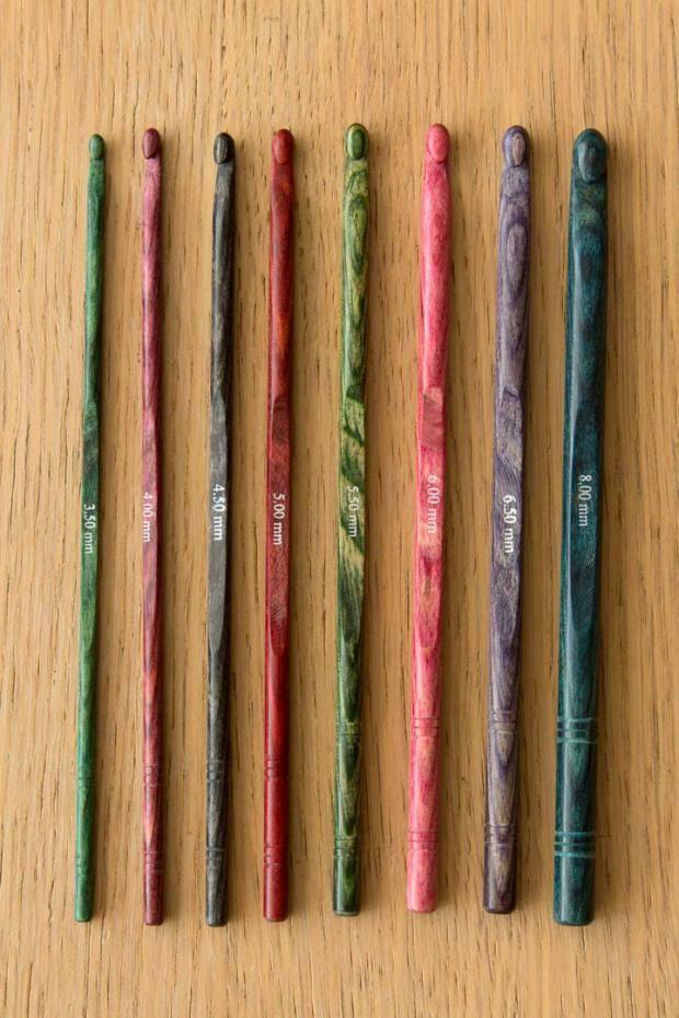 giveaway: knitpro symfonie wood crochet hook set Beautiful hooks!! ~Lee Ann H