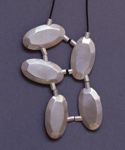 Mascha Moje - necklace 2001 - silver (via Galerie Slavik, No. 106203)