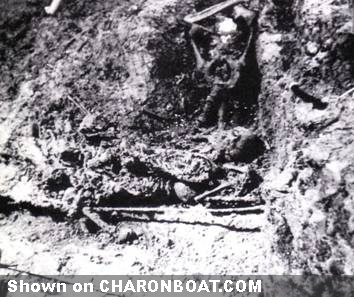 Romanov skeletons, in situ