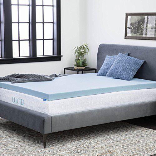 memory foam mattress 3inch gel style queen size orthopedic bed new topper soft
