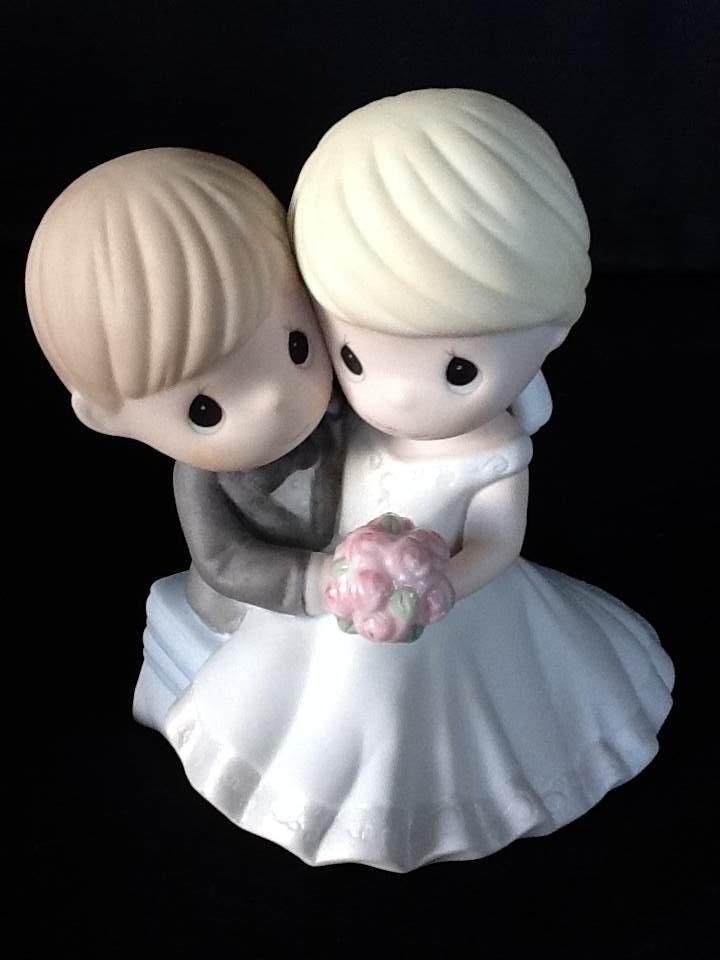Noivinhos bolo de casamento.