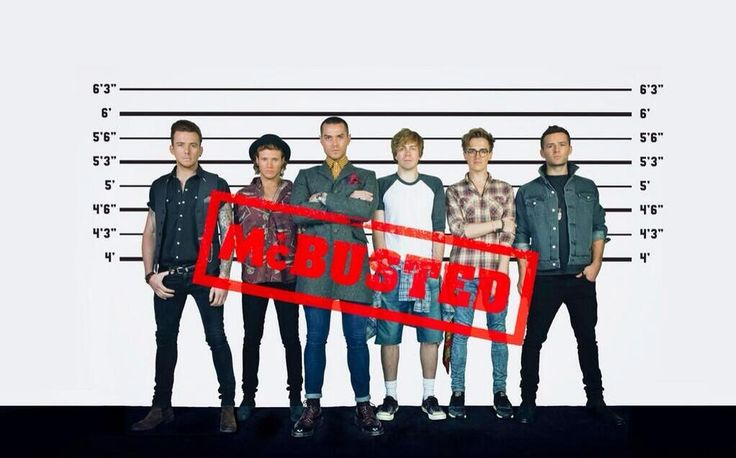 McBusted – The ultimate pop super group.