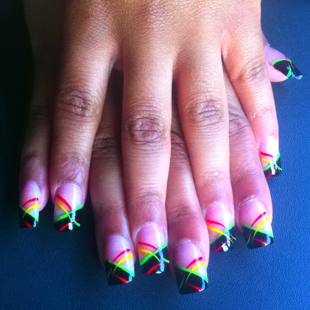 Best 25+ Rasta Nails Ideas On Pinterest