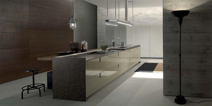 Italian Modern Design Kitchens - Icon by Ernestomeda