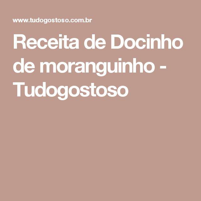 Receita de Docinho de moranguinho - Tudogostoso