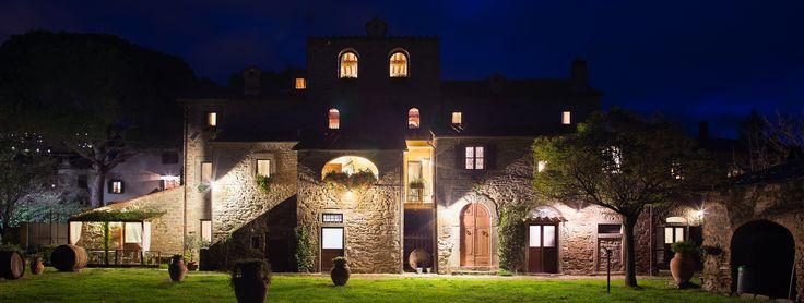Monastero San Silvestro Cortona il monastero di notte