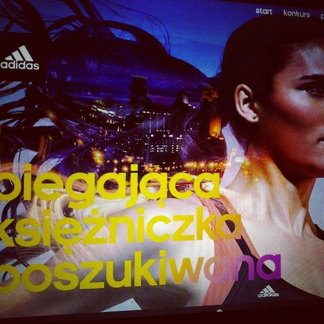 www.biegajacaksiezniczka.pl #strona konkursowa dla #adidas | contest #website for adidas | #MODX #cms #razdwaprojekt
