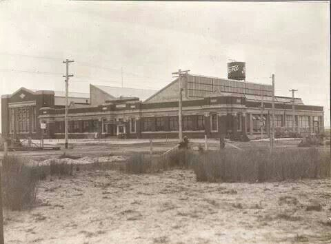 Ford Assembly Plant. Birkenhead, Largs Bay South Australia. 1926 to 1965. Building became Hardies. Corner of Victoria Rd and Jetty Rd, near the Birkenhead bridge.