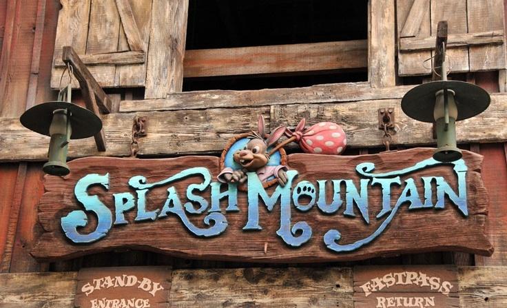 splash mountain sign | Happiest Place on Earth | Pinterest