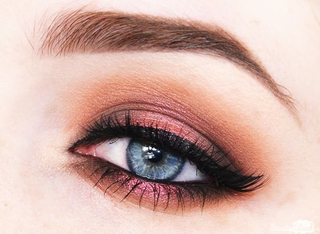 Zoeva Cocoa Blend Eyeshadow Palette Eye Look