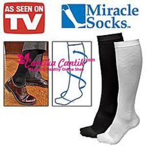 Miracle Socks Kaos Kaki Kesehatan. Miracle Socks-Kaos Kaki Kesehatan memberikan efek pijatan bagi kaki sehingga mengurangi penumpukan lemak subkutan dan mendorong metabolisme. **Selengkapnya: http://c-cantik.me/r63 **Order Cepat: http://m.me/cantikacantik.id  KONTAK KAMI DI - PIN BBM 2A8FB6B4 - SMS / WA 081220616123 Untuk Fast Response