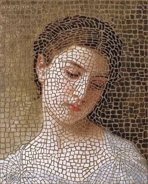 Girl Mosaic - Worth1000 Contests