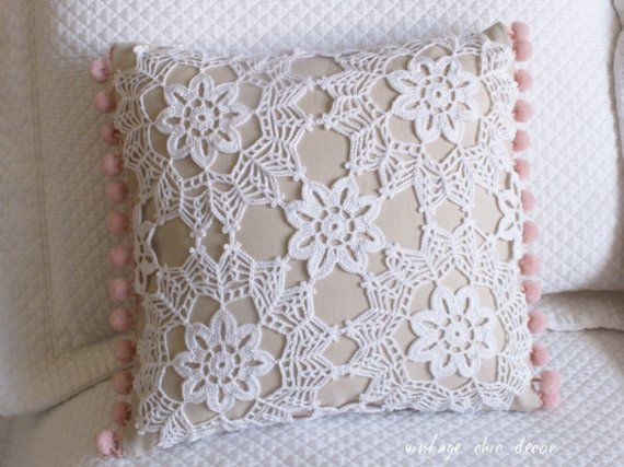 Crocheted Pillow