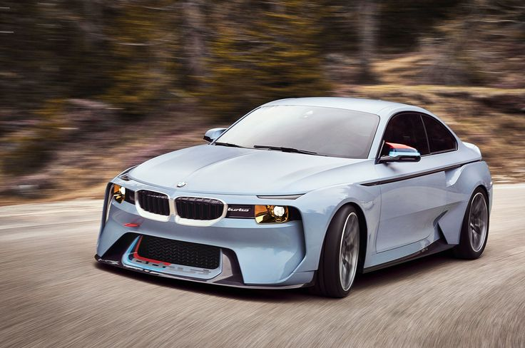 Image for BMW 2002 Hommage Concept Wallpaper