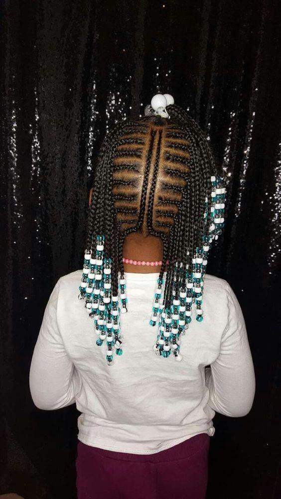 Top 20+ beautiful african braids kids – Hairstyles 2u #Naturalhairstyles