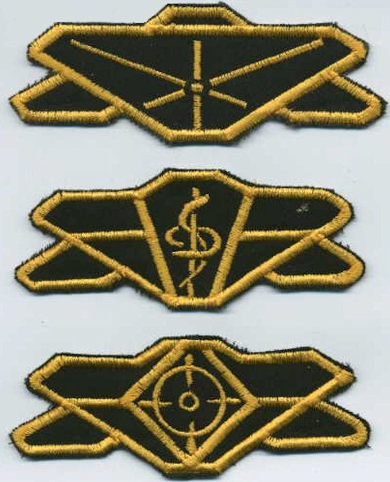 Babylon 5 Earth Force Division Patch Set of 3 Command by Katarra8, $14.99