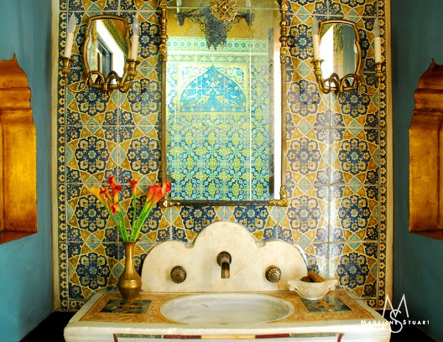 Morrocan style bath