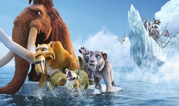 Noches de cine: Ice Age 4. La formación de los continentes