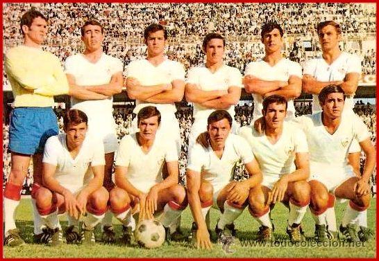 EQUIPOS DE FÚTBOL: SEVILLA contra Sporting de Gijón 25/10/1970 Resumen de la temporada