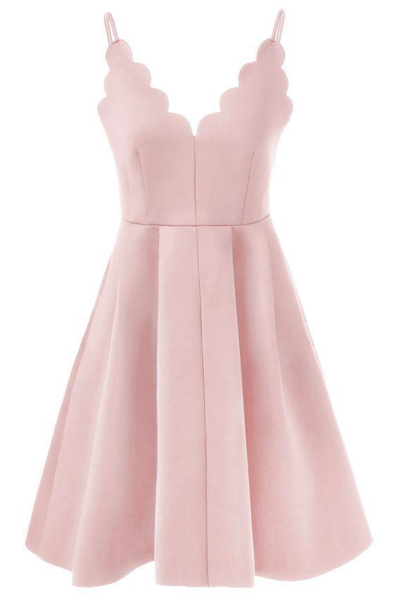 Homecoming Dress,Blush Pink Homecoming Dresses,Sweet 16 Dress,Sexy Homecoming Dress,Cute Cocktail Dress