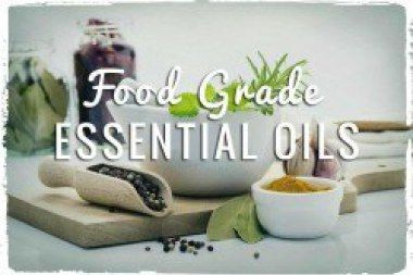 All About Food Grade Essential Oils.                                           A couple of different schools of thought exist when it comes to the conversation about ingesting essential oils. While some people believe that essential oils are natural and many of them are safe for oral consumption, other people believe that no one should ever consume any essential oils, ever.webessentialoils.com