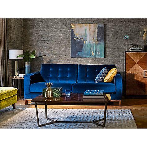 Buy John Lewis Firenze Cut Velvet Cushion Online at johnlewis.com
