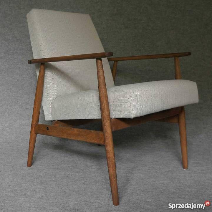 Fotel PRL lata 60/70 vintage design, po renowacji Wrocław - Sprzedajemy.pl