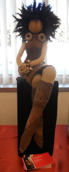 BEAUTIFUL DOLLS BY ARTIST TANYA MONTEGUT VIA BLACK CRAFTERS GUILD@Erika Stevens