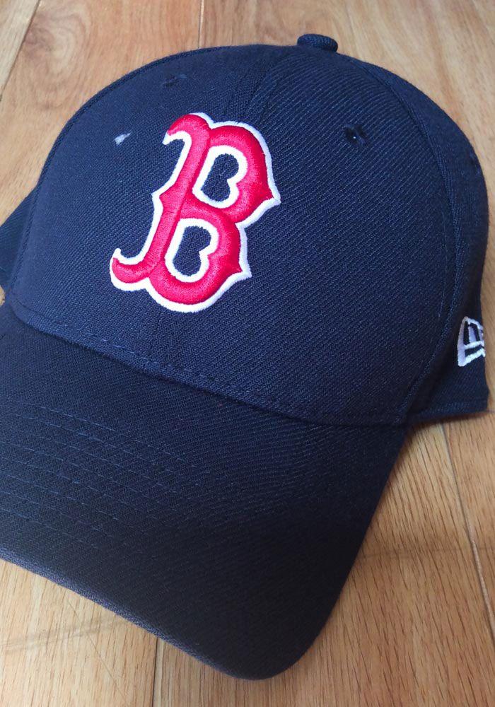 2fa2b506450 New Era Boston Red Sox Mens Navy Blue Team Classic 39THIRTY Flex Hat -  5905411
