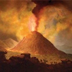 Pompeii Volcano erupts 79AD || idea for mosaic