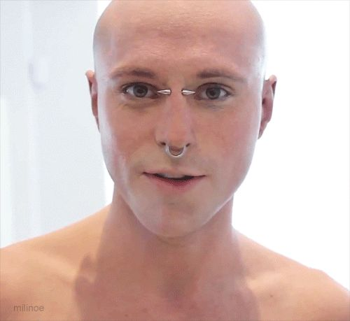 Painted man Rick Genest I think Rico is just the sexiest man!!!