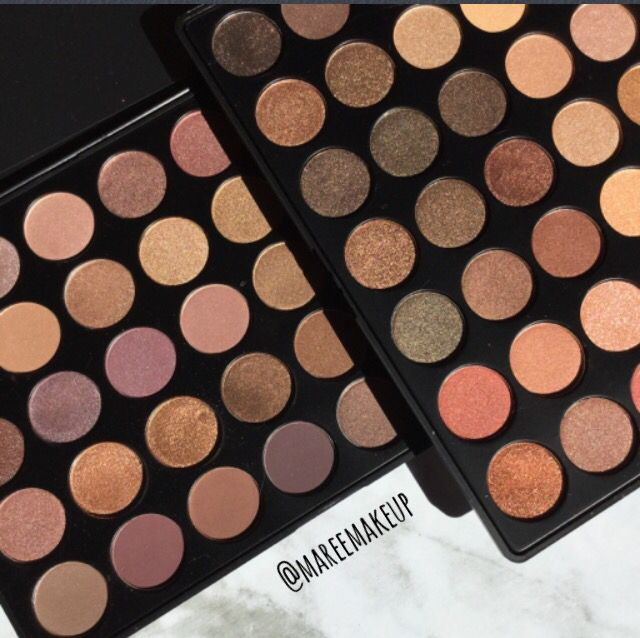 Morphe 350S and 35T palettes