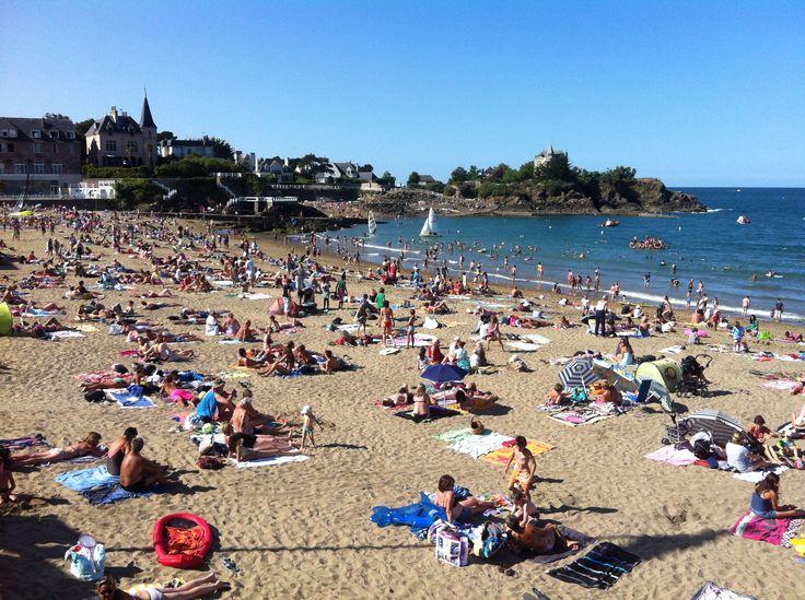 Fréquentation de la plage du casino mercredi 21 août.