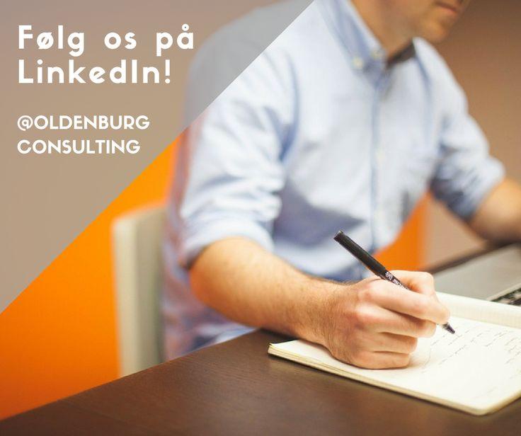 Find os på LinkedIn og bliv del af vores professionelle netværk.