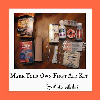 Coffee With Us 3   Make Your Own First Aid Kit