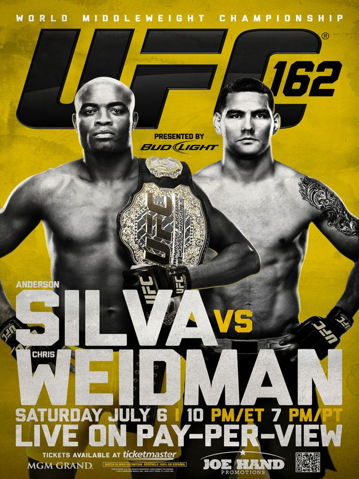 Silva v Weidman is one of the most anticipated UFC fights on the calendar for this year. Can Chris Weidman shock the world and take down the champ?