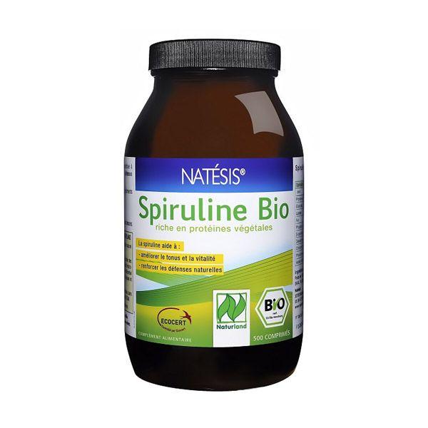 Spiruline Bio - 500 comprimés Natésis | Acheter sur Greenweez.com