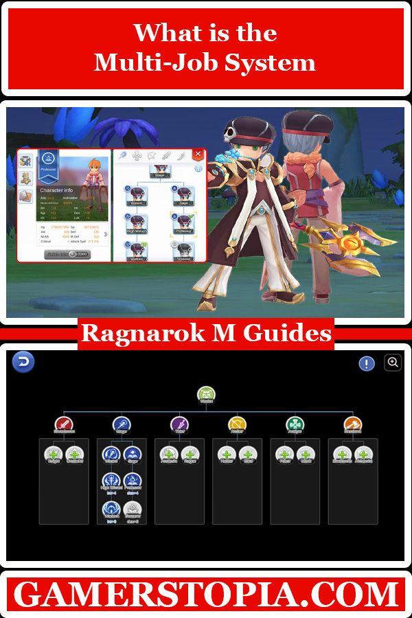 What Is The Multi Job System In Ragnarok Mobile Eternal Love Gamerstopia Videogame Mmorpg Games Play Mobilegames In 2021 Ragnarok Mobile Job Multi