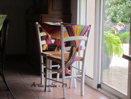 Hamac pour bébé avec deux chaises !