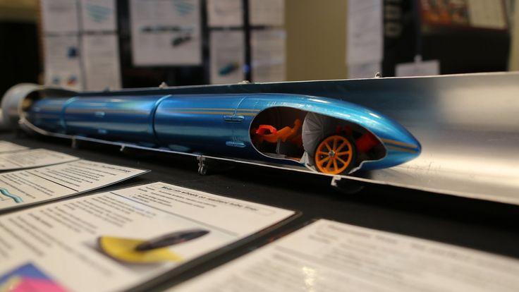 Elon Musk's Hyperloop competition comes to Texas  https://en.m.wikipedia.org/wiki/Hyperloop