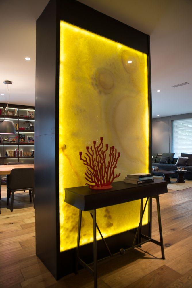 Projevve Onyx Lighting Projevve I 231 Mimarlik Marble Wall