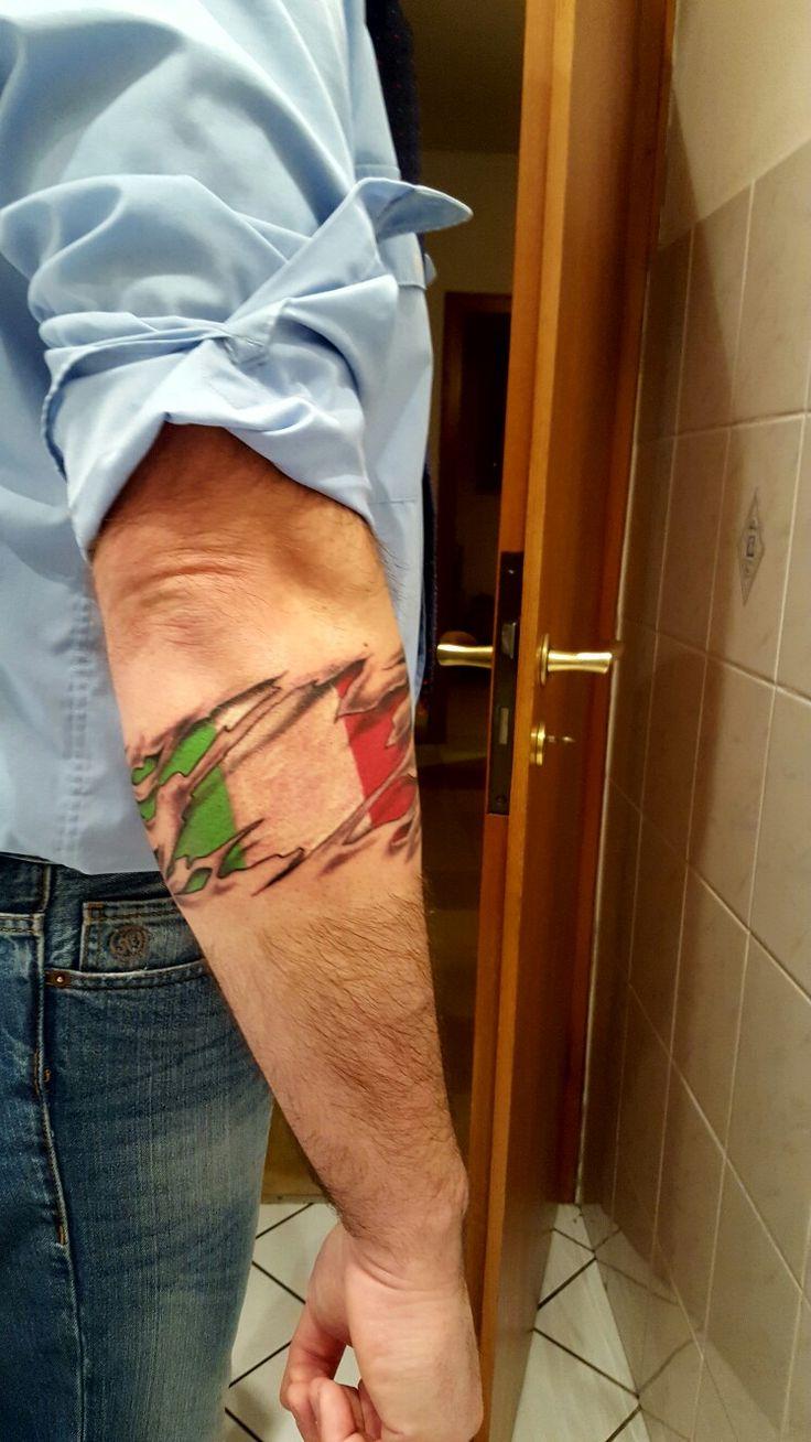 Italien Flagge,Italy,Flag , Italia ,tattoo,Italien,