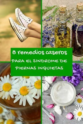 Remedios caseros para el síndrome de piernas inquietas