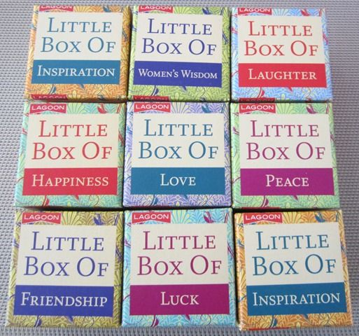 Give a little box of quotes to a loved one today! Great as a stocking filler... $9.95 AUD  http://www.thereadingnest.com.au/index.php?route=product/category&path=71